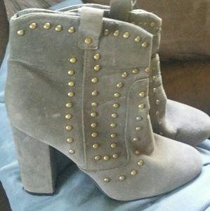 Rue 21 gray boots
